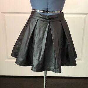 BRAND NEW Pleather Skirt